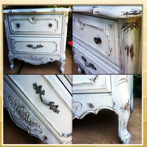 chalk paint americana decor provincial nightstand in americana decor chalky