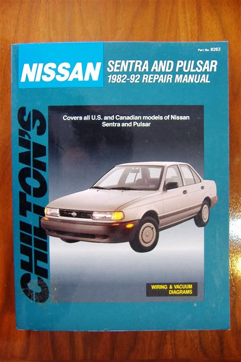 chilton car manuals free download 1992 nissan sentra navigation system 1982 1992 nissan sentra pulsar chiltons repair manual