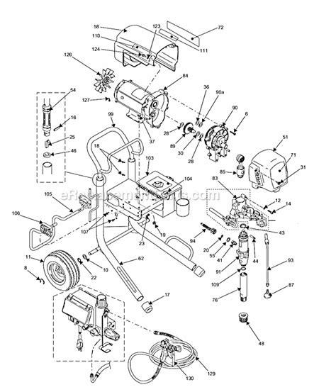 graco 395 parts diagram graco 1095 parts list and diagram 826073