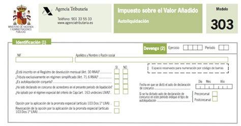 nuevo modelo 303 liquidacion trimestral iva 2015 cambios en el modelo 303 para el 2014 191 c 243 mo ser 225 el nuevo
