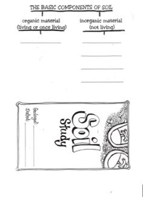 Soil Worksheets For 3rd Grade by 1000 Images About Soil On Activities Dirt