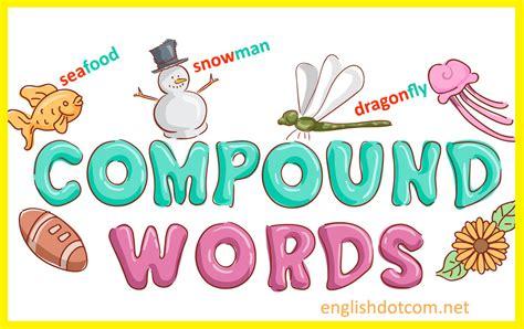 compound words  english  important compound