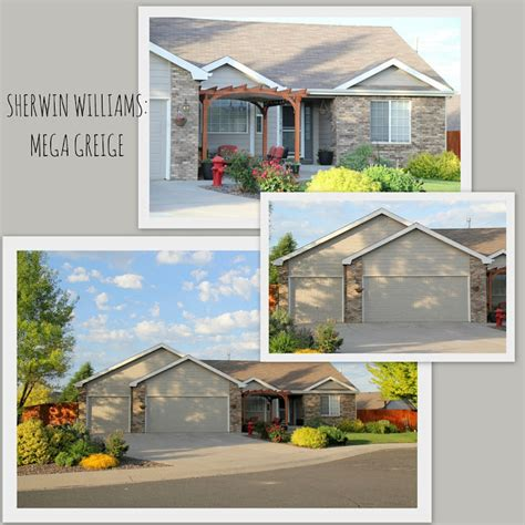 design with altitude sherwin williams mega greige exterior house paint