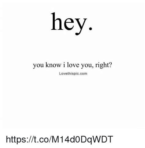 Hey I Love You Meme - hey you know i love you right lovethispiccom