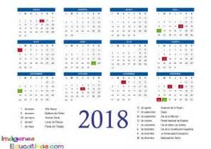 Calendario 2018 El Salvador Calendario 2018 2 Imagenes Educativas