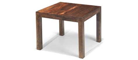 cube sheesham 90 cm dining table quercus living
