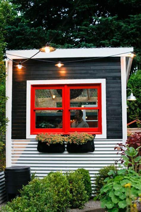 Metall Gartenhaus Mit Fenster by 25 Tolle Fotos Gartenhaus Aus Metall Archzine Net