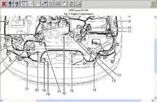 1999 lexus es 300 emissions engine performance problem