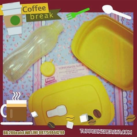 Paket Coffee promo tupperware februari paket coffee yellow tupperware murah limited editon