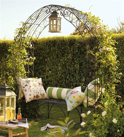 garden bench with trellis garden trellis bench traditional pergolas arbors and