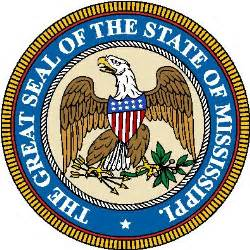 mississippi coat of arms crest of mississippi