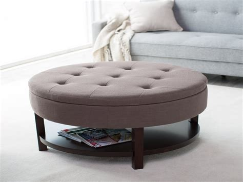 Fabric Coffee Table Colored Real Leather Storage Ottoman Fabric Covered Coffee Table Coffee Table Fabric