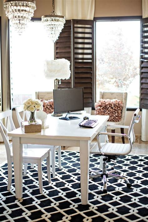 chic office decor home office archives style elixir