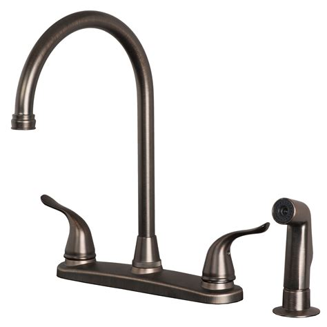 kitchen faucets uk classic high arc swivel kitchen faucet with side spray