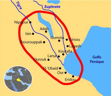 middle east map mesopotamia sumer and the anunnaki