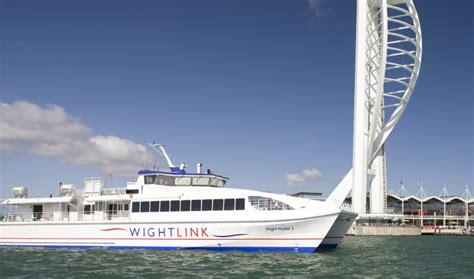 wightlink catamaran ferry timetable changes for wightlink s catamaran service
