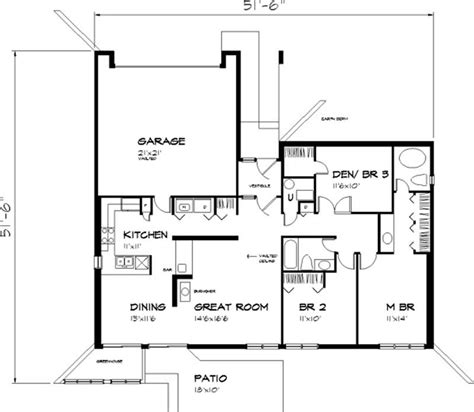 one story passive solar house plans new the daintree home passive solar house plans home design ls b 811 21459