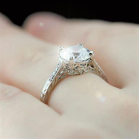 antique engagement rings vintage antique style engagement