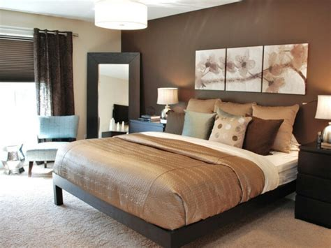 master bedroom accent wall colors brown accent wall cream other walls paint colours