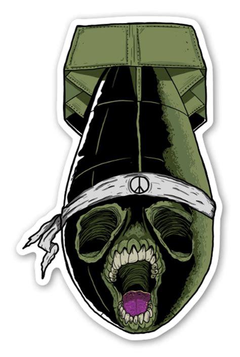 Sticker Bomb Aufkleber Einzeln by Stickerbomb For Peace Stickerapp