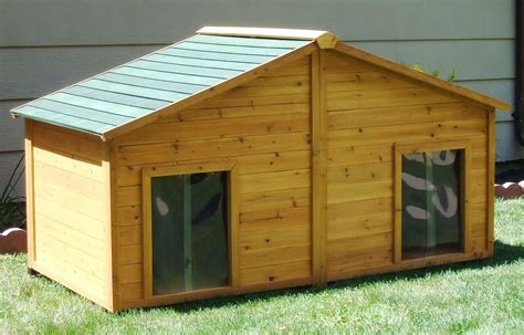 used dog houses for large dogs large enclosed dog house for my pups pinterest