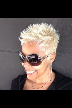 really short haircuts with black on bottom blonde on top 1000 images about hair pixie buzz cuts short hair