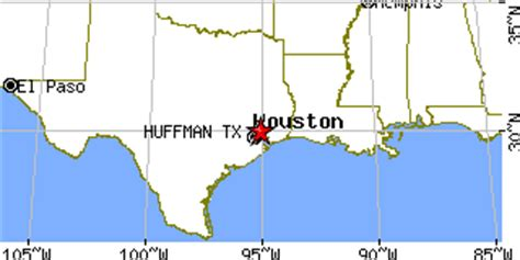 huffman texas map huffman texas tx population data races housing economy