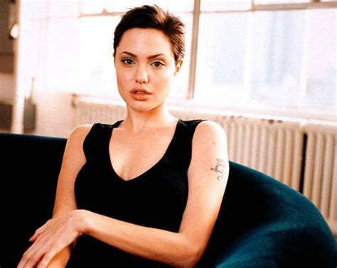 angelina jolie buzz cut angelina jolie short hair after gia hairstyles