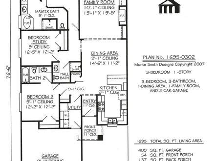 Best One Story Floor Plans Single Story House Floor Plans Single Floor House Plans