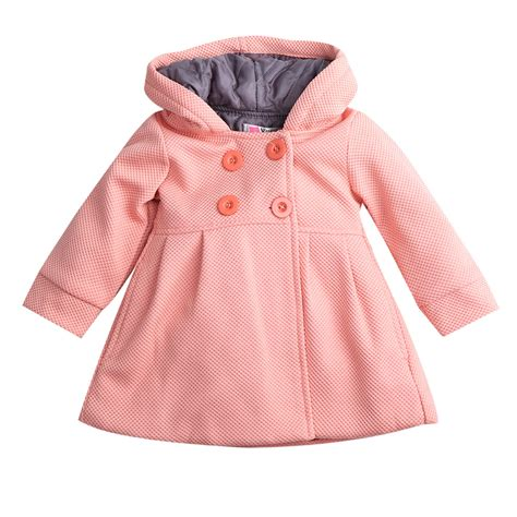 Baby Coat 2015 new baby toddler fall winter horn button hooded
