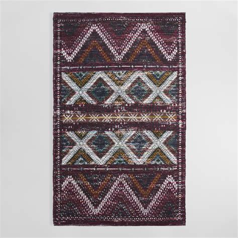 chindi rug world market 5 x8 cotton chindi tasmin area rug world market