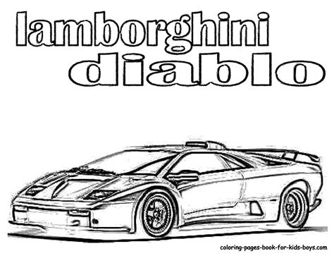Coloring Lamborghini Handsome Rugged Lamborghini Coloring Pages Cars Free