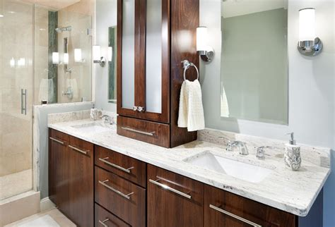 Modern Bathroom Countertops River White Granite Vanity Modern Bathroom Boston