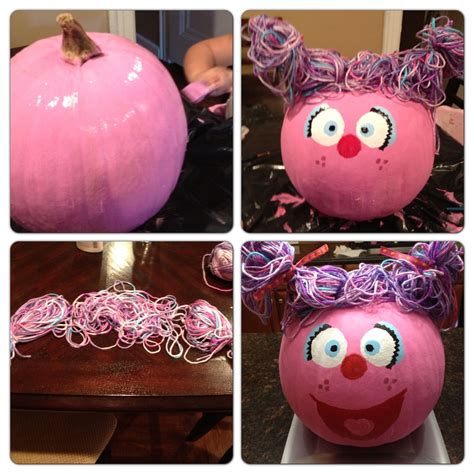 Abby Baby Pink abby cadabby pumpkin ideas used pink black