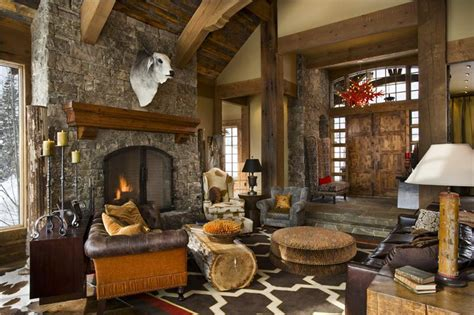 rustic decorating rustic living room marceladick com