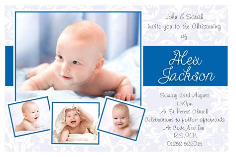 invitation card for baptism of baby boy template baptism invitations for boys baptism invitations for