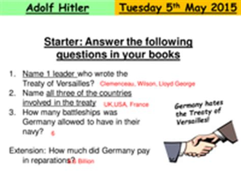 biography adolf hitler ks2 introduction to adolf hitler and the second world war