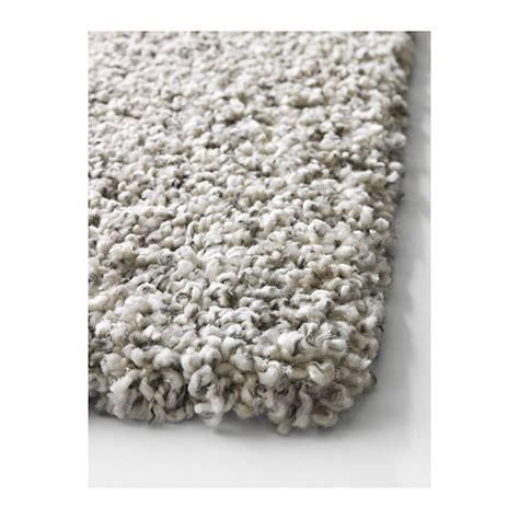 alhede rug white alhede rug high pile white 80x150 cm ikea