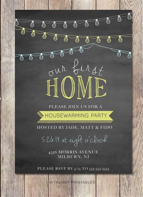 House Rming Party Invitation House Rming Invitation