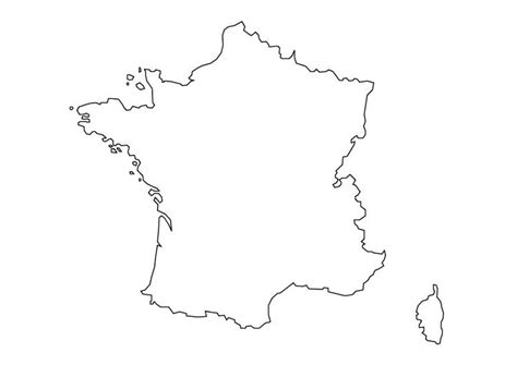 coloring page map of france coloring page map of france img 10111