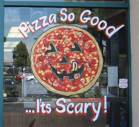 Scary Pizza aal signs plus artist at large