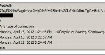 extending the fedauth claims auth ticket in sharepoint 2010 system what extending the fedauth claims auth ticket