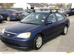 2001 eternal blue pearl honda civic ex sedan 5074674