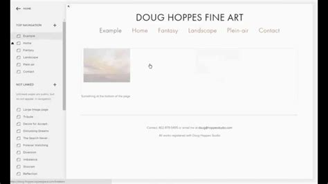 Implementing My Site Using Squarespace Avenue Template Youtube Squarespace Avenue Template