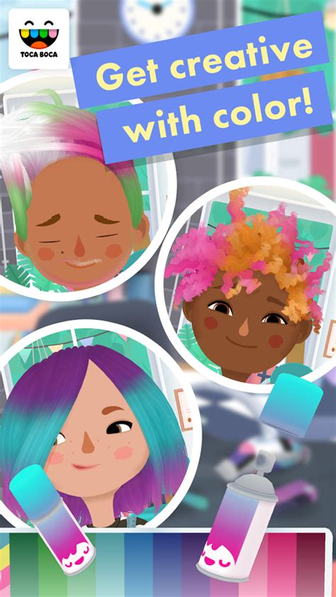 toca boca hair salon 2 apk toca hair salon 3 android apps on play