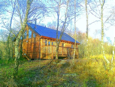 Cabins Scotland by Loch Aweside Forest Cabins Visitscotland