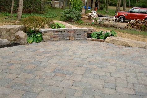 Paving Ideas For Backyards Backyard Paver Patio Ideas Marceladick