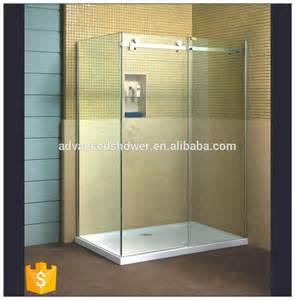 3 panel glass shower door sale l shape bathroom 3 panel sliding glass shower