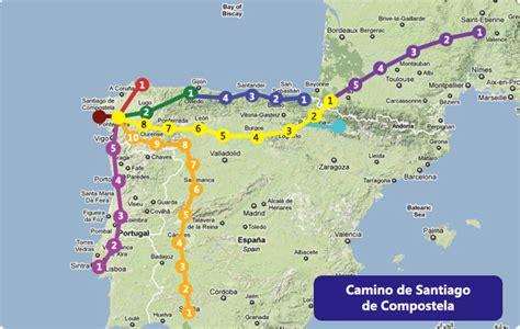 Camino Walk Route by Going To Walk El Camino De Santiago In About A Year