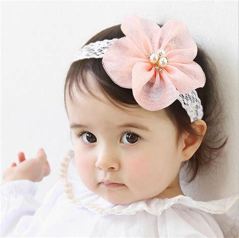 hair accessories children baby beautiful pink new fashion korean style baby pink headband hairbands